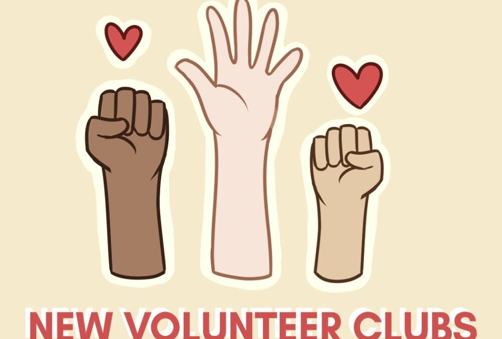 New year, new volunteer clubs