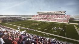 New Katy high school football stadium
