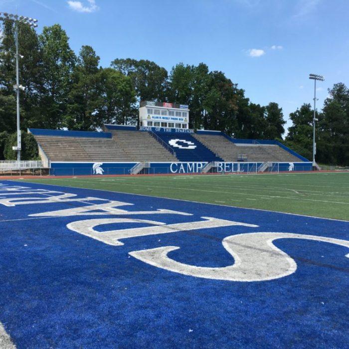 high school football stadium McDaniel Stadium