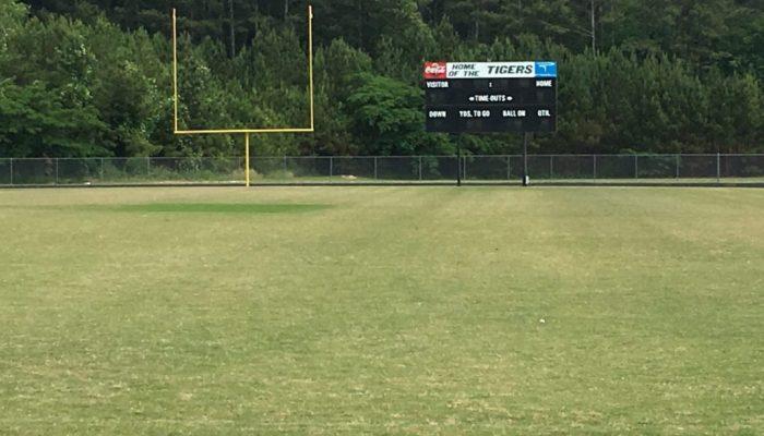 Adairsville High School scoreboard