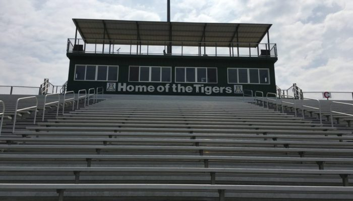 Adairsville High School Press Box