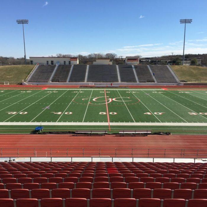 Mustang panther stadium
