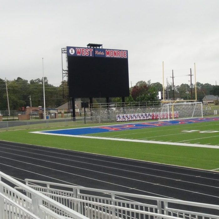 West Monroe High School Football Field