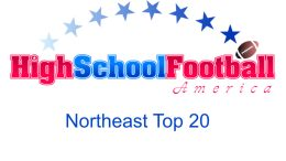 northeast top 20
