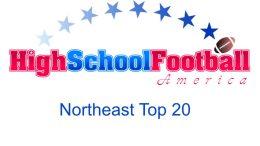 northeast top 20