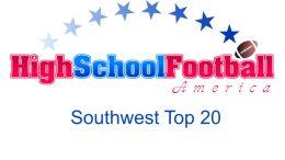 Southwest Top 20
