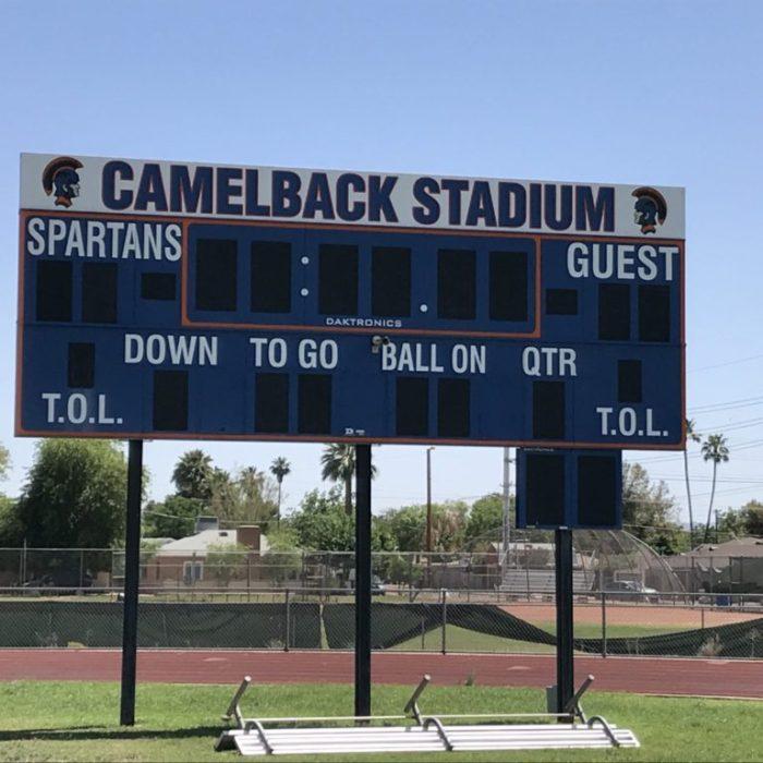 camelback football