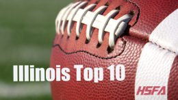 illinois high school football top 10
