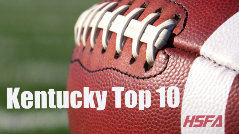 Kentucky Top 10 high school football
