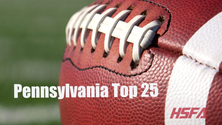 pennsylvania top 25