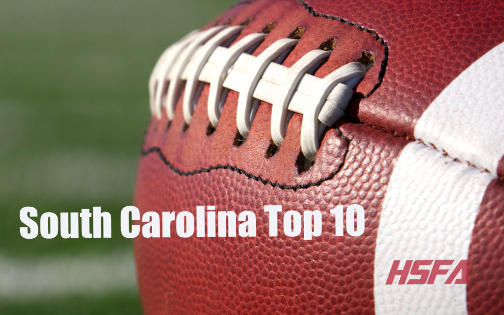 South Carolina Top 10 Week 12 High School Football America