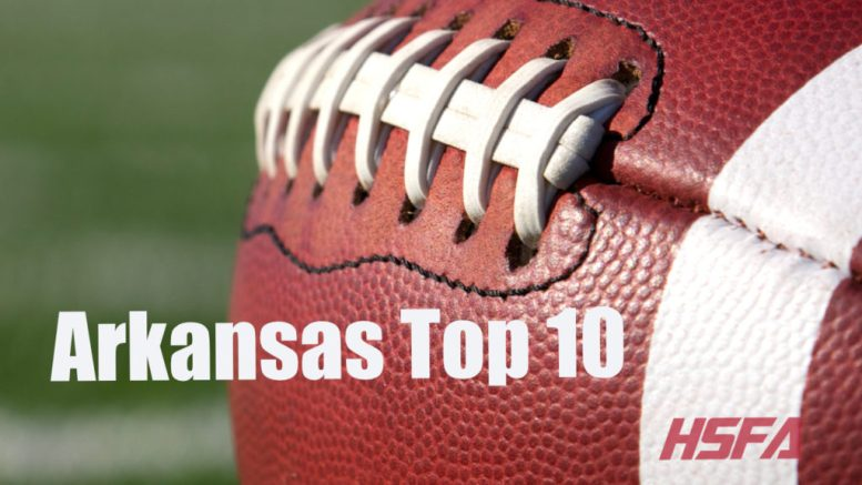 arkansas high school football top 10