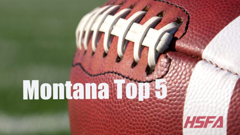 Montana high school football Top 5