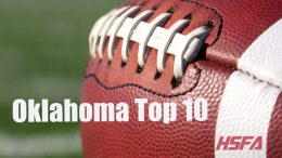 Oklahoma high school football Top 10