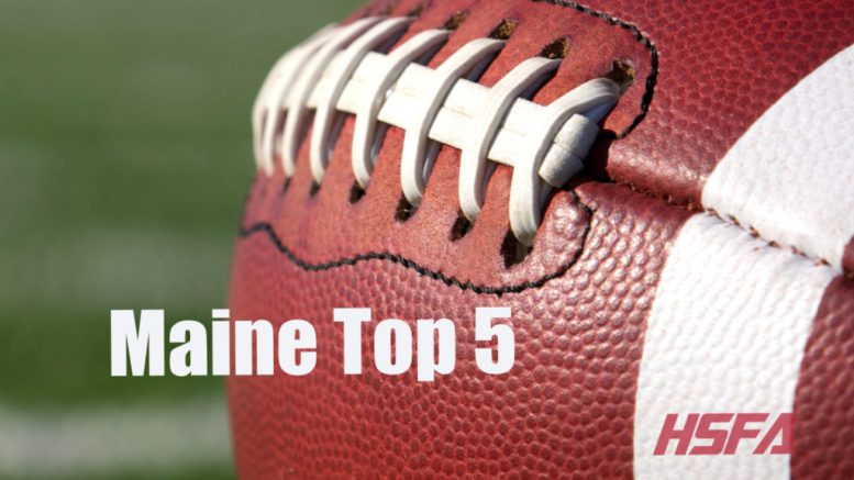 maine high school football top 5