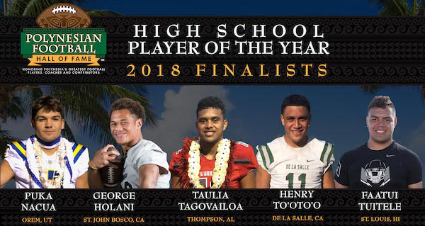polynesian high school football player of the year