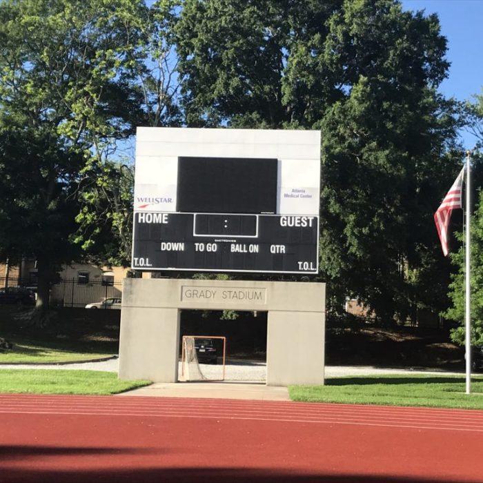 grady high school football stadium