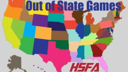 out of state high school football games
