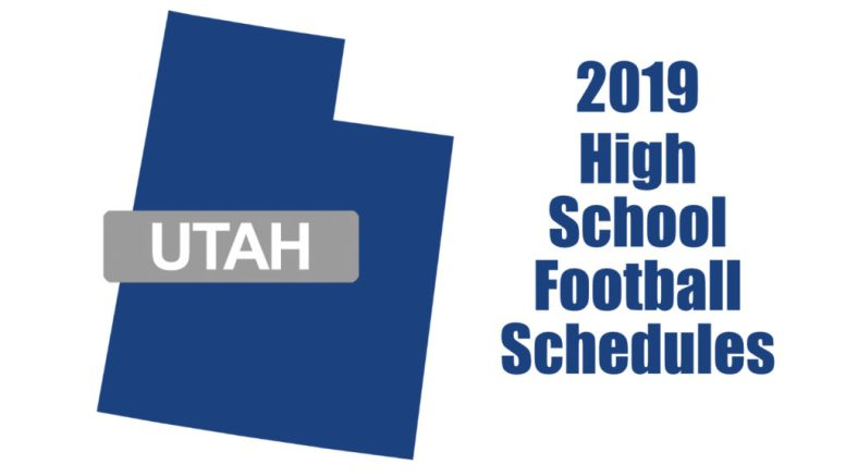 utah high school football schedules