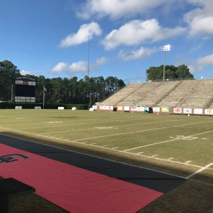 Glynn County high school football stadium