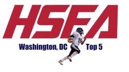 Washington DC high school football top
