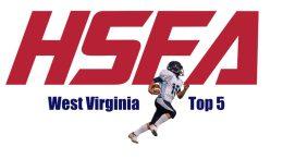 west virginia high school football top 5