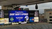 st. mary's springs high school football