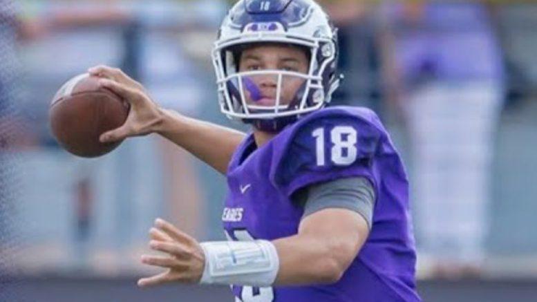 caleb williams high school football