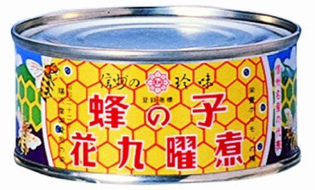 蜂の子缶詰め