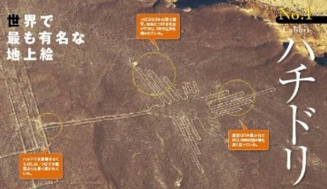 ナスカの地上絵 ハチドリ image