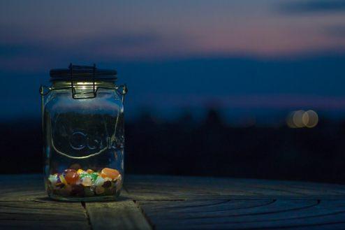 SONNENGLAS(ソネングラス) 瓶型LEDライト