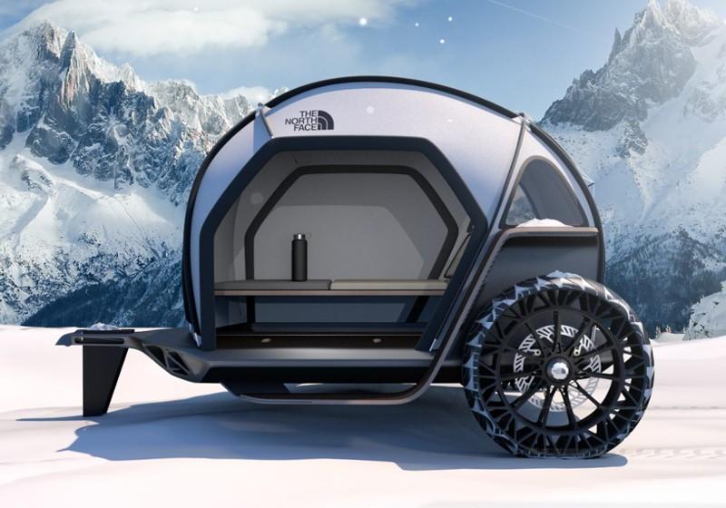 新素材『FUTURELIGHT™』が革新的!!BMW×The North Faceのキャンピングトレーラーがカッコいい!!