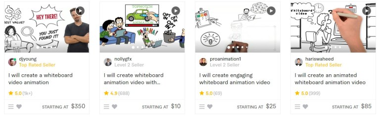 make money from white board animations