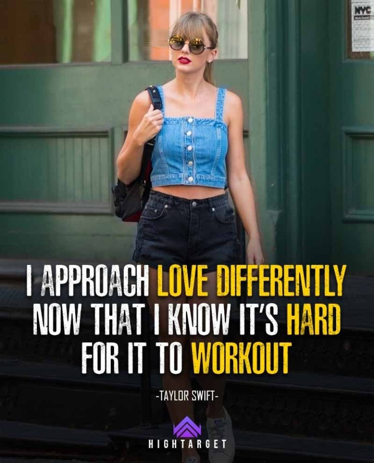 Taylor Swift quotes for love