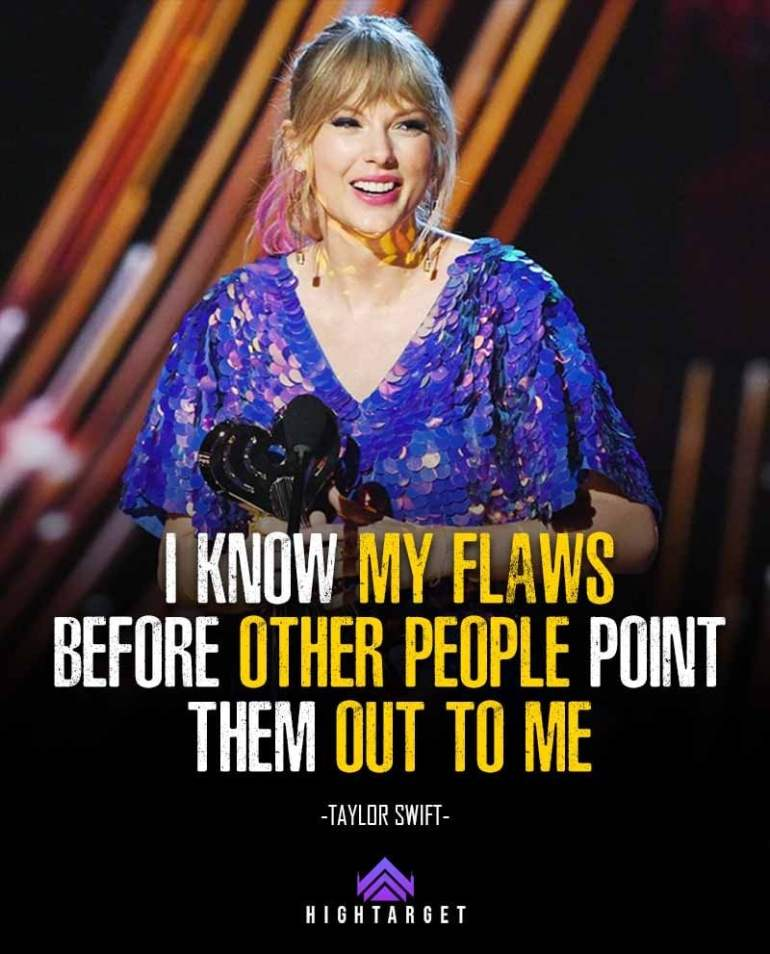 Taylor Swift Quotes for Success