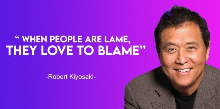 financial rules by robert kiyosaki