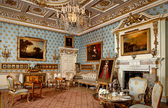 Blue Drawing Room at Woburn Abbey