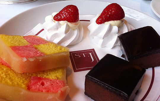 Afternoon Tea at St James Hotel and Club