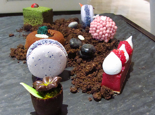 Edible Garden Afternoon Tea InterContinental Westminster