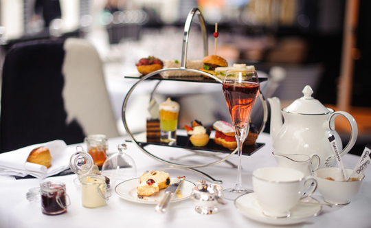 Afternoon Tea at Gaucho London