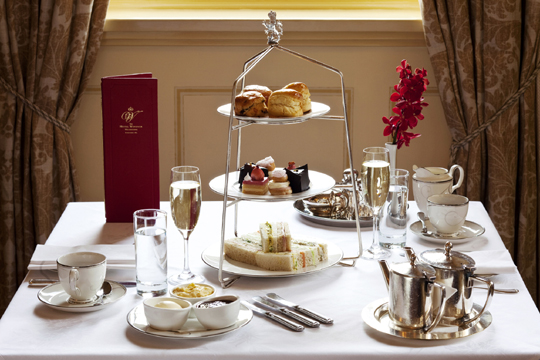 Afternoon Tea at The Hotel Windsor