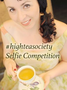 #highteasociety Selfie Competition