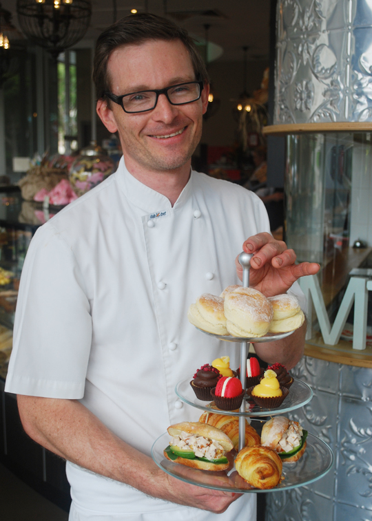 Michael Leidler, Owner, Zimt Patisserie Bakery Cafe