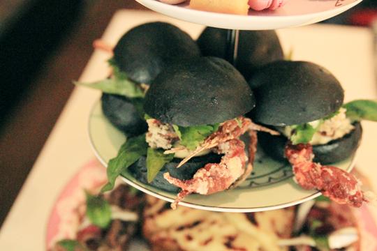 Crab Rolls at Madame Hanoi