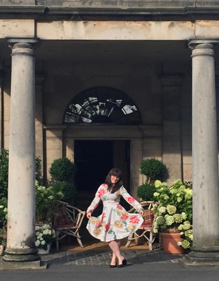 Rose Callaghan at Prestonfield House