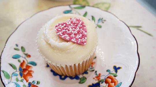 Boo's vanilla cupcake