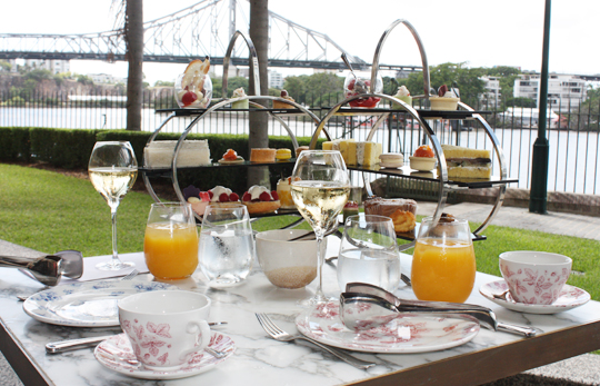 High Tea at Customs House Brisbane