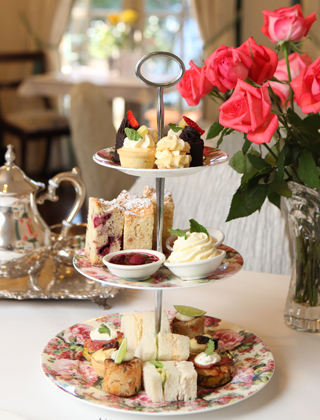 High Tea at Room with Roses Brisbane