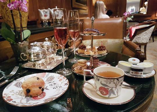 Afternoon Tea at The Ritz-Carlton New York, Central Park