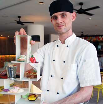Chef Daniel at the QT Gold Coast